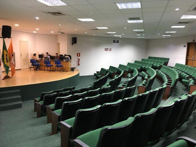 Auditório verde